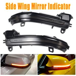 Indicador intermitente espejo LED indicador dinámico de luz de señal para BMW 1 2 3 4 Serie F32 F33 F36 F87 GT X1 E84