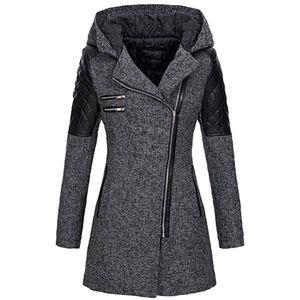 Female Jacket Women caldo rivestimento sottile spessore Parka cappotto invernale Outwear con cappuccio Zipper cappotto piumino delle donne cappotto delle donne