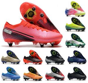 2021 رجل va pors 13 XIII النخبة SG-PRO AC CR7 رونالدو NJR نيمار جونيور نساء بنين أحذية كرة القدم أحذية كرة القدم المرابط US6.5-11