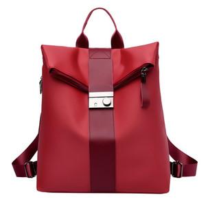 Tasarımcı-Sırt çantası Seyahat Kadınlar Leisure Moda Büyük Kapasiteli Flexo Omuzlar Çanta Öğrenci Sırt Çantaları Yeni Schoolbag Casual sırt çantası