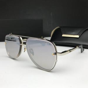 Diseñador de gafas de sol polarizadas de los hombres de gran tamaño cuadrado de espejo retrovisor Gafas de sol marca de diseño retro controlador de gafas de sol UV400 gafas