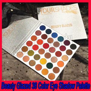 .BEAUTY GLAZED Новый макияж 36 цветов Палитра теней для век Длительная палитра теней для век Пудра с блестками Пигментные тени для век Косметика