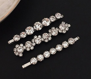 Neue Mode REICHE Luxus Kristall Haarspange Schmuck Für Frauen Hochzeit Geschenk Haarspangen Mit CZ Diamant Schöne für Mädchen 3 Stücke Set