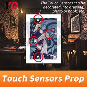 Touch Sensor PROP Escape Room Touch Touch в правильной последовательности, чтобы разблокировать такагизм Игра Real Life Adventure Game Rups Chamber