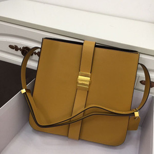 Designer Shoulder bags women fashional crossbody real soft leather outside adjustable wide belts personal buckle designment