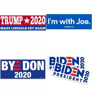 Amerika Trump Sticker 2020 Joe Biden Cumhurbaşkanı Adayı Seçim Pasters Liberaller Cry Again Otoyapıştır 2 8JW B2 olun