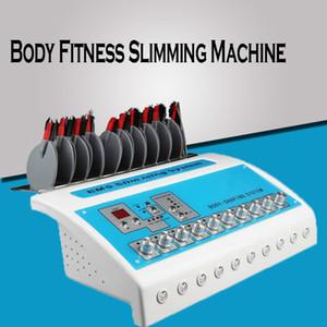 New Fisioterapia Peso reduzir Dispositivo Perder máquinas elétricas Muscle Stimulation Machines Electro Fat Body Fitness emagrecimento máquina