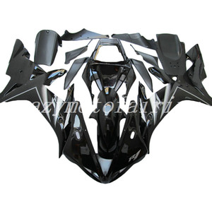 3Gifts New ABS Mold motorcycle plastic Fairings Kits Fit For YAMAHA YZF-R1-1000 2002-2003 02 03 good quality Fairing bodywork black nice