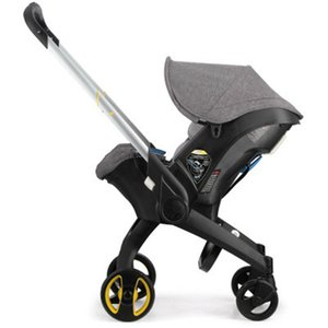 4 In 1 Car Seat Baby Stroller Travel System Stroller Sleep Basket Foldable Pram Stroller Newborn Baby Carriage