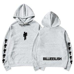 Billie Eilish Fashion Printed Hoodies Women Men Long Sleeve Hooded Sweatshirts 2019 Casual Trendy Streetwear Hoodies