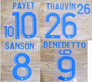 2020 home BENEDETTO PAYET THAUVIN SANSON nameset patch badge