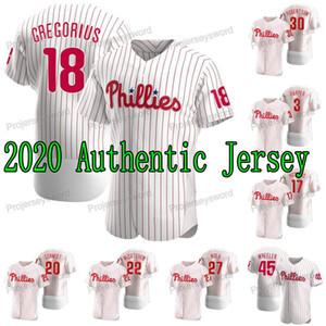 2020 Philadelphia Didi Gregorius Jersey Bryce Harper Rhys Hoskins Mike Schmidt David Robertson Odubel Herrera Zack Wheeler Realmuto Kingery