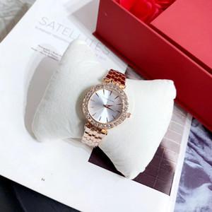 mk montre montres Diamond Watch Bracelet Montres femmes pour les femmes en or rose strass célèbre horloge michael Mode féminine Suivre