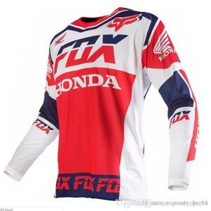 2019 País roupa da motocicleta americano TLD Ciclismo Jersey Long Sleeve Top Homens de Verão Mountain Bike Cruz