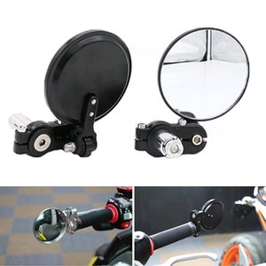 1 Pair Aluminum Bicycle Rearview Adjustable Moto Bike Modified Folding Mirror HandleBar Motorcycle Rear view Side Mirrors RR7268