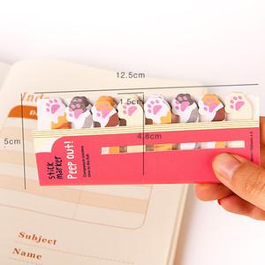 Materiali Carino Cactus Memo Pad Memo Sticky Note Sticker taccuino di carta Adesivi Stationery Office Accessori per la scuola