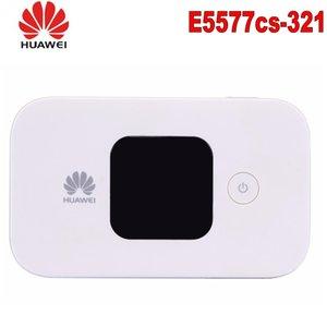 Desbloqueado Huawei E5577 e5577cs-321 4G LTE Cat4 Móvel Hotspot Roteador Sem Fio Carfi 4G 150 Mbs Mifi Modem com slot para cartão SIM