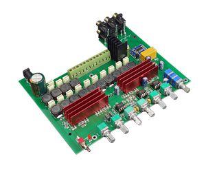 Freeshipping HIFI College WL60 TPA3116D2 Bluetooth 4.2 5.1 Каналы Аудио Усилители 100WX150WX5 С высоких частот Регулировка низких частот