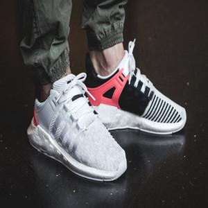 2019 EQT 93 17 Mens donna turbo red casual sports Sneaker ultra shoe Supporto Future Pack di stemmi in bianco nero rosa