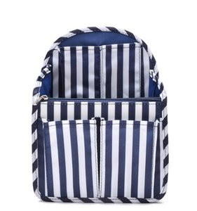 DHL Dual Bag In Bag Women Insert Handbag Organizer Purse Makeup Case Storage Liner Bag Tidy Travel Insert Storage Bags for women nx