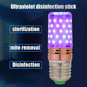 60LED 60W E27 UVC germicida lâmpada UV Desinfecção Milho Light Bulb casa limpa matar os ácaros Ultraviolet Esterilizar Lamp