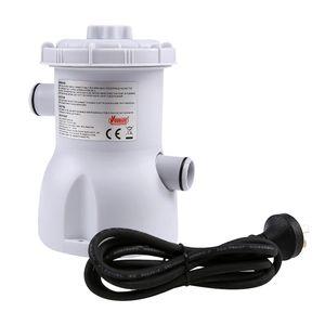 Eu Plug Swimming Pool Filter Pump Pool Cleaner 220V Filter Pump Circulation Siphon Principle Swimming Purifier Replace