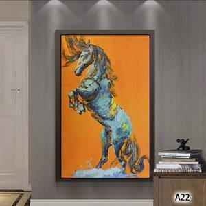 Pinturas abstratas Cavalo Tamanho Grande Paintings HD da parede da lona Impressões Home Decor Sala de Arte Moderna Unframed