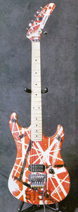 Высококачественная электрогитара, Eddie Van Halen Гитары высшего качества, состаренная реликвия st, модернизированное оборудование, 5150 гитара