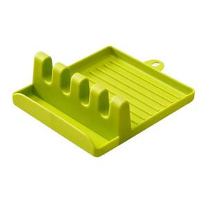 Nueva Cocina portautensilios antideslizante cuchara palillos bastidor soporte Espátula de cocina Estante de almacenamiento en rack cuchara / Cocina Accesorios VT1461