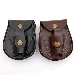 2 In 1 Açık Havada Bel Çantaları Pu Deri Küçük Topu Kepçe Düğmesi Ile Saf Renk Sapan Paketi Basit Dayanıklı Sıcak Sale3 5ym E1