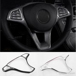 Car Steering Wheel Button telaio di copertura Trim auto Accessori per la Mercedes-Benz Classe E W213 Classe C W205 GLC classe x253 Car Styling