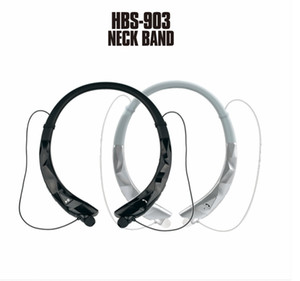 HBS 903 New Neckband Stereo Headset Bluetooth Wireless Mobile Música V4.1 Luxury Sport fone de ouvido de telefone Headphone Handsfree HD MIC Auricular