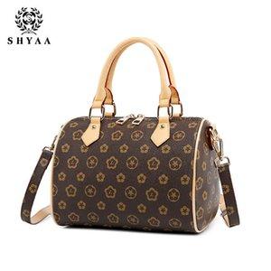 SHYAA 2020 Neue Presbyopie Boston Kissen Boston Taschen Handtasche europäischen und amerikanischen Wilden Große Marke Umhängetasche