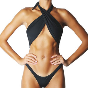 Bikinx Seksi Thong Tek parça Suit Yüksek Kesim Mayo Kadınlar Brezilyalı Tek Parça Vintage parça bikini Mayo Kadın Mayo Yeni