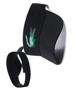 2020 summer new men's and women's sun hats Velcro topless sun hat 24 color optional empty top hat adult hat