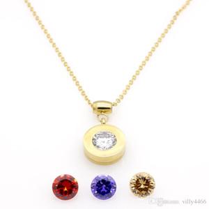 Дизайн Марка 4 обмен бриллиантовое ожерелье для женщин из нержавеющей стали аксессуары Циркон сердце любовь браслет браслеты для женщин ювелирные изделия