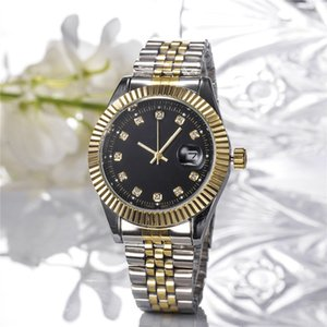 2019 Novo Calendário vestido Moda Modelo luxuoso senhora assistir famosa marca cheia de diamantes Jóias 38 milímetros Mulheres relógio de quartzo de alta qualidade grátis