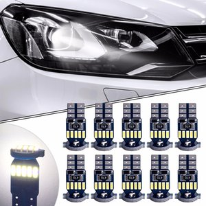 10Pcs T10 15SMD 4014 LED Canbus Auto Clearance Light W5W WY5W 19422825 Car Wedge Tail Lisk Pillt Reading Lap 12v