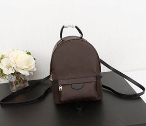 High Quality Designer Pu Leather Mini Women Bag Children School Bags Backpack Famous Fashion Springs Palm Lady Bag Travel Bag Designer bags