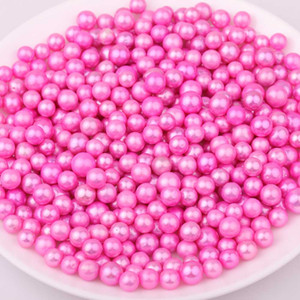 wholesale Mix Colors 7.5-11mm Round pink Edison Loose Pearls DIY Jewellery Accessories Gift For Women Pearl Party Free Shipping