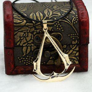 Collar de cadena al por mayor 2016 Assassin's Creed Jewelry The Hidden Blade Chain Bellamente Assassins Creed Fine Jewelry Colgantes Collares