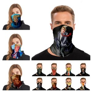 new Trump headband adult sports multi functional Trump magic scarf women and men mask riding mask Party masks T2I51123