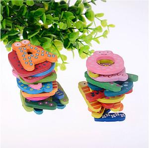Giocattoli per bambini 26pcs 15pcs lettere magnete frigorifero bambini unisex bambini giocattolo educativo lettere di legno alfabeto apprendimento