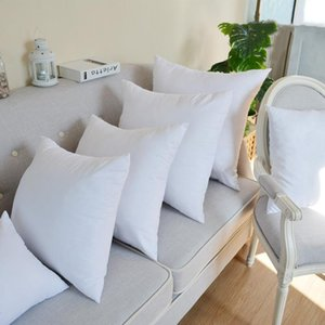 Diy Pillow Core White Inner Filling Cotton -Padded For Sofa Car Soft Pillow Cushion Insert Cushion Core Home Decorations 45x45cm