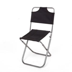 Ultra-leve ao ar livre Portátil cadeira dobrável Camping Churrasco Cadeira de pesca PU Revestido Oxford pano 110 kg de Carga rolamento 7075 tubo De Alumínio