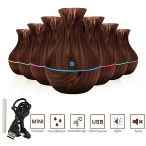 Esansiyel Yağı Aroma Yayıcı Aromaterapi 7 Renkli LED Ultrasonik Nemlendirici Hava Temizleme USB nemlendirici ev aromaterapi makinesi
