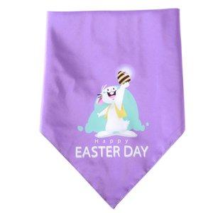 Easter Decoration Dog Collar Scarf Neckerchief Pet Triangle Towel Pet Supplies Dog Bandana Towel Saliva Towel Party