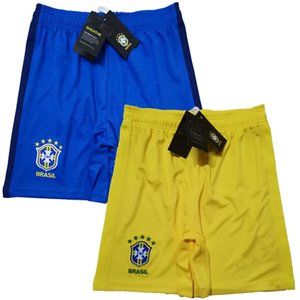 2019 2020 2021 Brazil Soccer Shorts home away 20 21 football Sports shorts pants S-2XL
