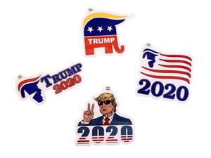 2020 ABD Başkanı Seçim Pasters ABD Donald Trump Notebook Sticker Kampanya Destekleyenler Çıkartması Çevre Dostu AN3092