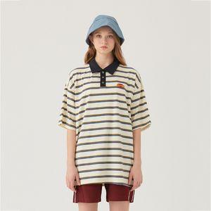 2020 Мужские Женские дизайнерские футболки Модные мужские женщин летние Tshirts Марка Короткие рукава нагрудные Футболки Весна полосатые рубашки 2051100V